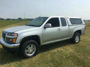 2010 GMC Canyon Extended cab 4x4 3.7L, Canopy
