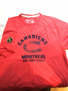Montreal Canadiens CCM shirt