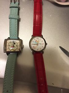 2 Disney Watches- womens