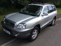 2004 Hyundai Santa FE 2.0 4x4-full history-may 2018 mot-exceptional value