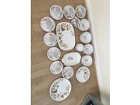Noritake china collection set