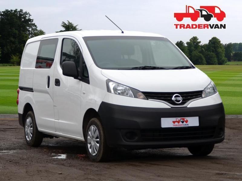 2016 Nissan Nv200 1 5dci Se Seat 5 Crew Van Conversion Sel Manual