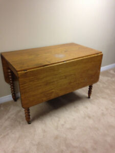 Dining Table, drop leaf, antique
