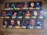 Collection Of 19 Star Trek Next Generation DVD's.
