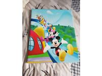 Mickey & Minnie Mouse Wall Canvas