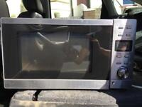 Free stainless steel microwave