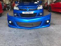 Astra vxr smoothed front bumper