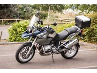 Very Low mileage BMW R1200GS. Priced to sell