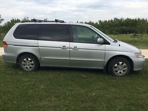 2003 Honda Odyssey Ex  safetied  Private Sale 1 tax