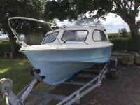 Shetland 535 river/sea boat