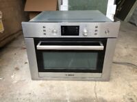 Bosch integrated oven and microwave