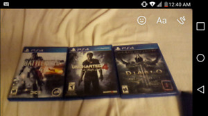 $100 bundled. Uncharted 4 - Diablo 3 - Battlefield 4