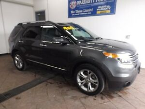 2015 Ford Explorer Limited LEATHER NAVI SUNROOF