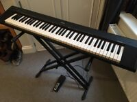 Yamaha NP30 Electric Grand Keyboard with Roland Sustain Pedal