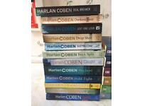 CAN DELIVER Collection of 12 Harlan Coben Paperback Thriller Books starring Mylon Bolitar