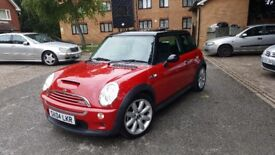 Mini cooper S 2004 1.6 supercharged face lift model low mileage TOP SPEC panoramic roof px welcome