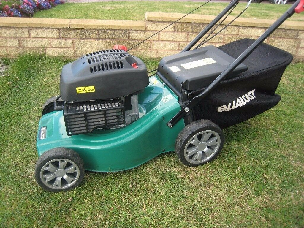 Qualcast XSS41A Petrol Lawn Mower With Fully Serviced ...