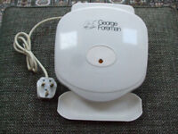 GEORGE FOREMAN GRILL model No. 10060, in vgc