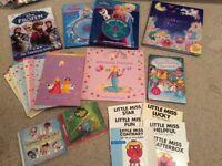 Childrens books/cds