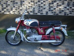Honda CD 175 ( SOON TO BE 50 YEARS YOUNG )