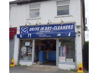 WELL ESTABLISHED DRY CLEANERS BUSINESS Ref 146694