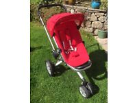 Quinny Buzz 3 Pram Stroller and Dreami Carrycot Great Condition