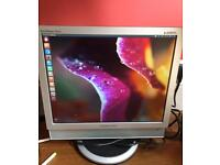 "Used Samsung SyncMaster 741MP 17"" LCD Monitor TV, 1280 x 1024, SXGA TFT"