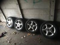Original VW MK1 Golf Wheels