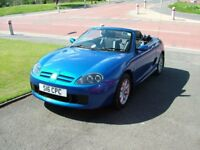 MG TF MGTF 1.6 Trophy Blue Soft & Hard Top 28K miles from new