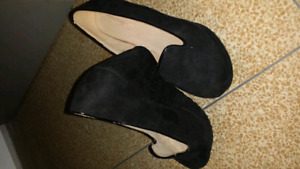 Black Swede Wedges