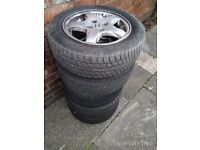 Alloy Wheels - 4 x off a Honda Civic 2000 will fit other cars