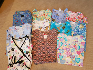 Excellent condition scrub tops