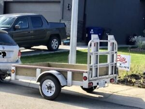 4x6 Galvanized Trailer for rent 40/day