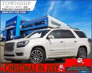 2013 GMC Acadia Denali - $19/Day! - All Wheel Drive - 1 Owner