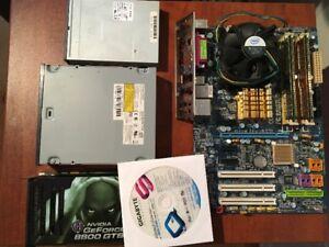 Composantes d'ordinateur peu utilisé à vendre