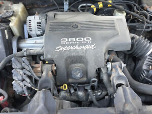 2003 buick v6 super charger engine and trans