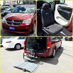 2011 Dodge Grand Caravan SXT Equipped with Mobility Lift and Sea