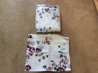 Next King size Duvet cover and pillow cases-Never used