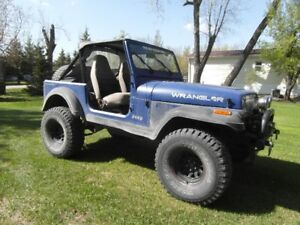 1988 Jeep Wrangler Convertible -safetied-