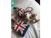 Sets of truly British egg cups