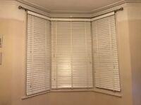 Free White Bay Window Venetian Blinds