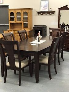 Wood dining table set for sale!!!