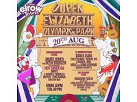 2 x VIP tickets Elrow Town London - SUNDAY 20th