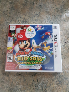 Nintendo ds Mario and Sonic Rio 2016 sealed