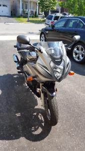 Black and Grey Suzuki GS500F - Great beginner bike
