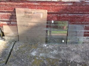 Glass Panes - Various Sizes