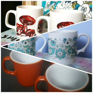 Collectable Vintage Mugs