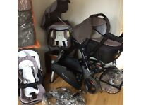 Travel System including pushchair