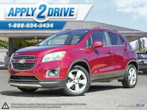 2014 Chevrolet Trax AWD Leather Sunroof Turbo