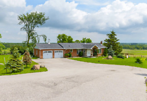3 Bedroom Bungalow With Spectacular View Minutes To Alliston